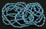 Zvětšit fotografii - Rýže 154 ks na šňůrce - barva modrá