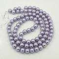 Zvětšit fotografii - Voskované perly skleněné, koule 4 mm, 100 ks - levandulová