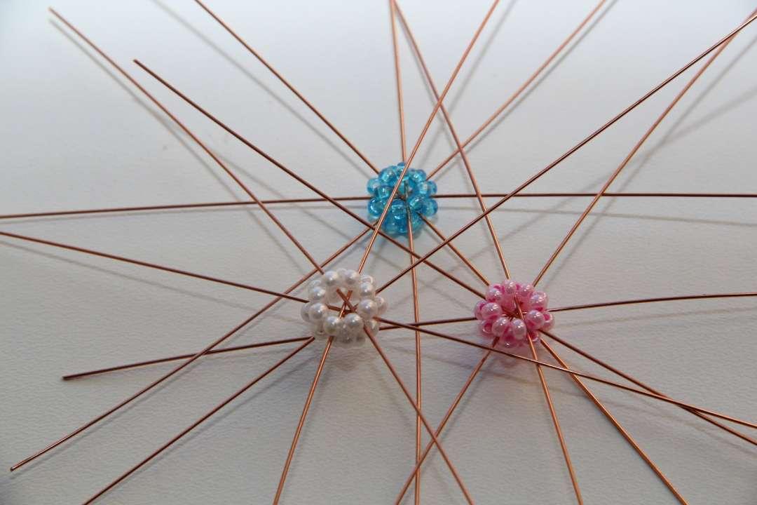 Základ korálkové hvězdy 10ks
