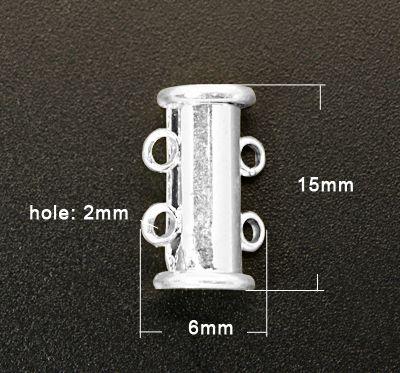 Magnetické zapínání 2 řady - 1 ks