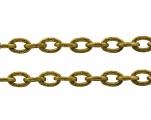 Řetízek zdobený středně jemný 10 m - zlatá barva