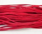 Vlněná šnůra 20 ks - červená