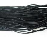 Vlněná šnůra 1 ks - černá