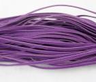 Vlněná šnůra 1 ks - tmavěfialová