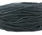 Voskovaná šnůra min 1 m - černá