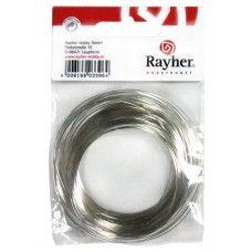 Drát stříbrný, měděné jádro 0,6mm, 10 m